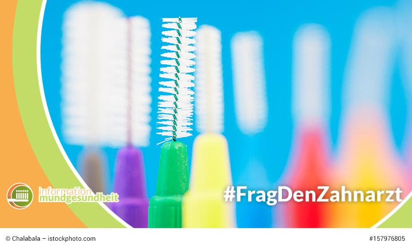 frag den zahnarzt zu hilfsmittel fuer die reinigung der zahnzwischenraeume
