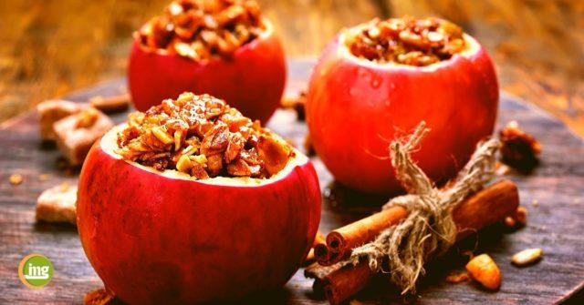 Bratäpfel und andere Rezepte für die Weihnachtszeit von Information Mundgesundheit. Lecker und zahngesund.